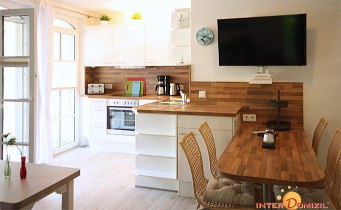 Wohn-/ Essbereich Baabe Fewo Strandwohnung mit Meerblick Ref. 128668