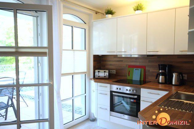 Küche Fewo Strandwohnung mit Meerblick Ref. 128668
