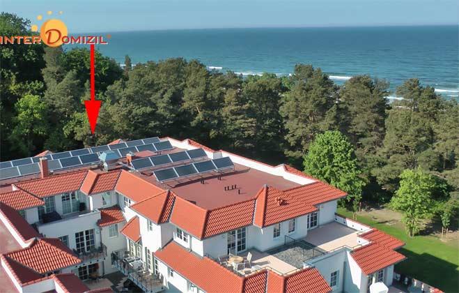 Lage Rügen Haus Meeresblick Baabe