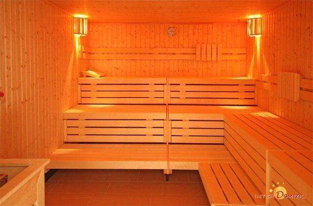 Sauna im Haus Meeresblick Baabe auf Rügen