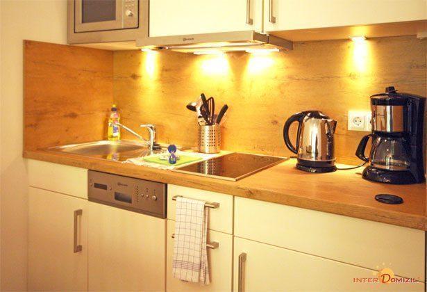 Küche Haus Meeresblick Ferienwohnung Strandmuschel mit Meerblick Ref. 128669