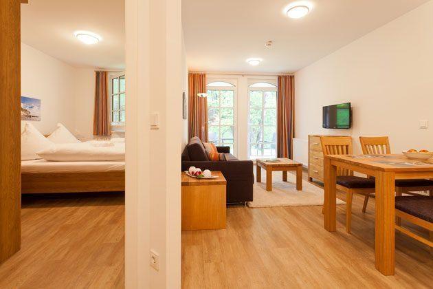 Wohn-/ Schlafbereich Baabe Ferienwohnung Strandmuschel mit Meerblick Ref. 128669