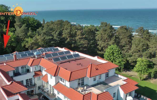 Lage ams Strand von Baabe  Rügen Ferienwohnung Stranddüne A 0.15 R... - Objekt 128671-1