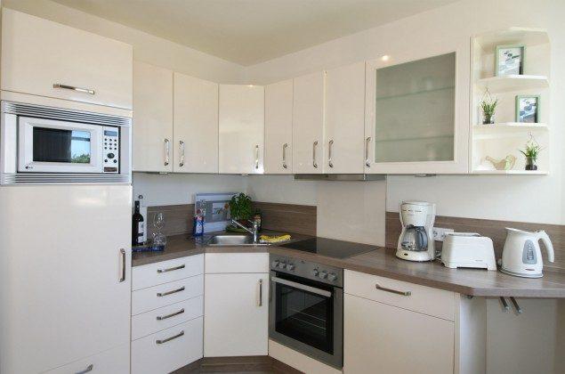 Küchenbereich Ferienwohnung Ostseeflair A 1.03 Ref. 128672