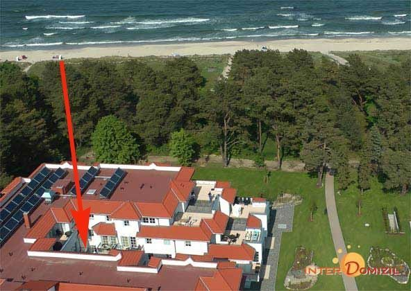 Lage im Haus Meeresblick Ref 128676