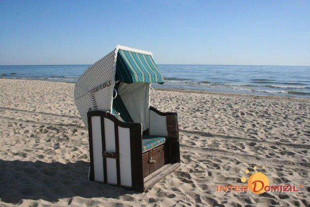 Ihr Strandkorb am Strand von Baabe