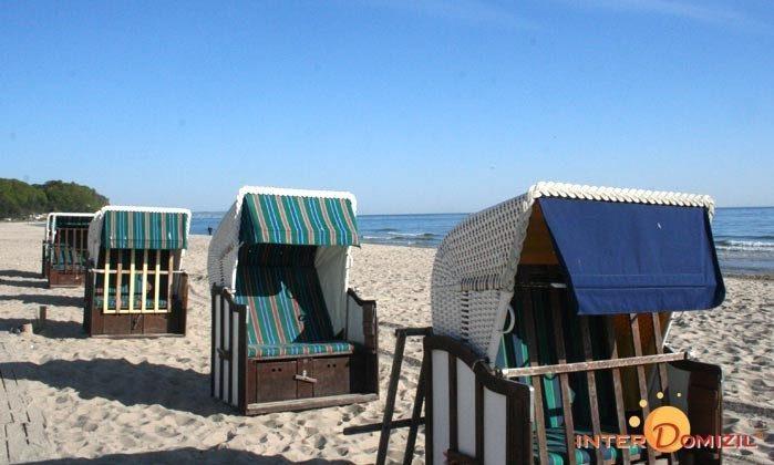 Am Strand von Baabe Haus Meeresblick Ref 128676