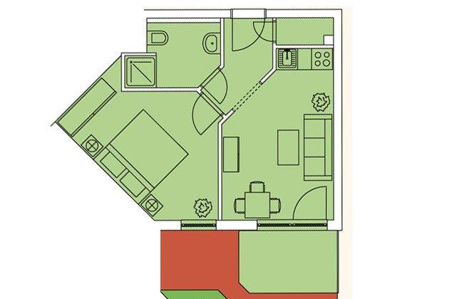 Grundriss Haus Meeresblick Ref 128676