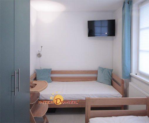 Schlafzimmer 2 Haus Meeresblick Ferienwohnung Morgensonne