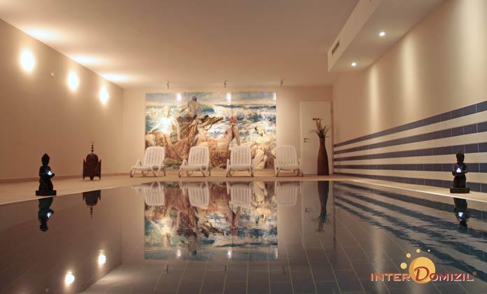 Schwimmbad im Haus Meeresblick Ferienwohnung Morgensonne