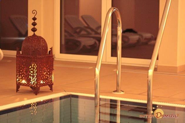 Schwimmbad Detail im Haus Meeresblick Ferienwohnung Morgensonne