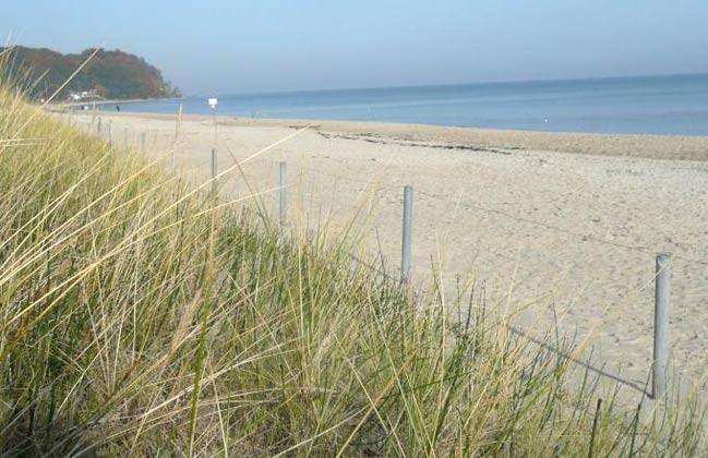 Strand Haus Meeresblick Ferienwohnung Morgensonne