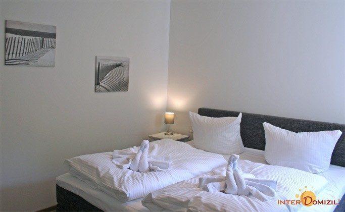 Schlafzimmer Ferienwohnung Am Strand 2 A 2.22