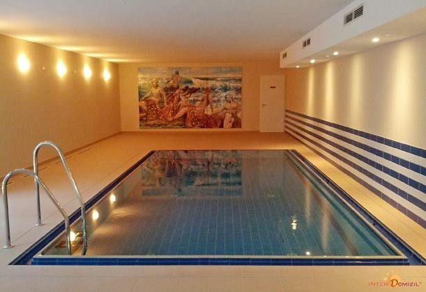 Schwimmbad im Haus Meeresblick Ferienwohnung Am Strand 2 A 2.22