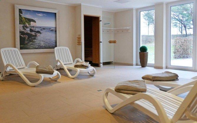 Saunabereich im Haus Meeresblick Baabe