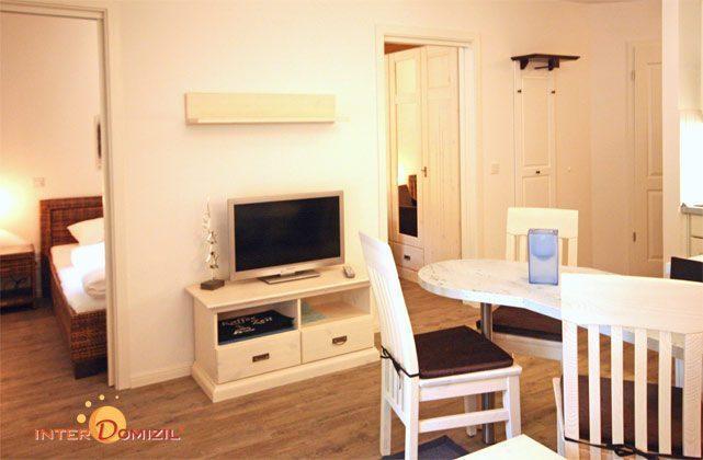 Wohnbereich Haus Meeresblick Baabe Ferienwohnung Strandläufer mit Meerblick Ref. 128683