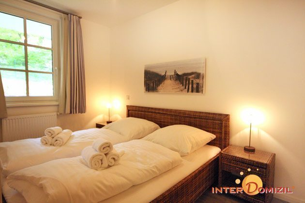 Schlafzimmer Haus Meeresblick Baabe Ferienwohnung Strandläufer mit Meerblick Ref. 128683