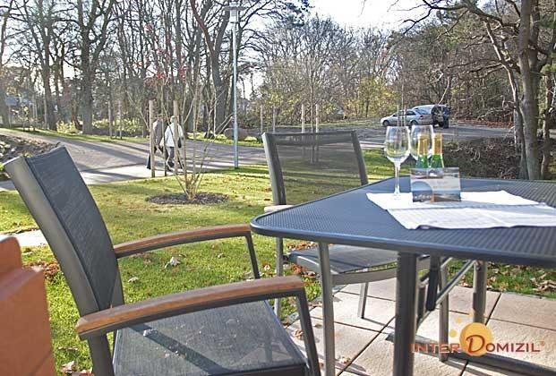 Terrasse Fewo Kranich auf Rügen