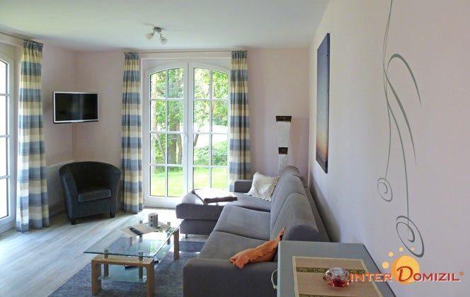 Wohnbereich Haus Meeresblick Baabe Fewo Kranich A 1.32 Ref. 128688-T