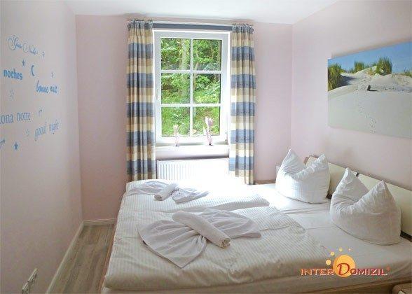 Schlafzimmer Fewo Kranich Baabe Haus Meeresblick