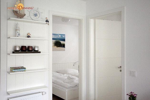Blick in die Schlafzimmer Haus Meeresblick Baabe Ferienwohnung Strandgut Ref. 128689