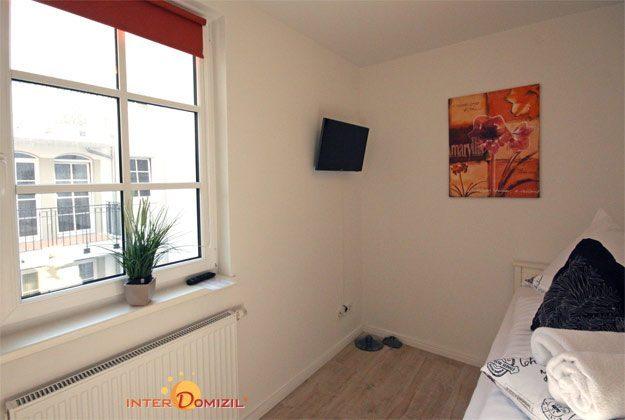 Schlafzimmer 2 Rügen Ferienwohnung Meeresrauschen A 2.01 Ref. 128690