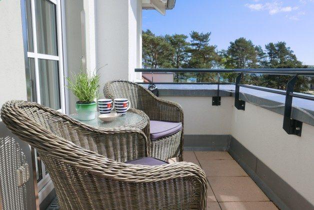 Balkon Rügen Haus Meeresblick Ferienwohnung Strandperle mit Meerblick Ref. 128693