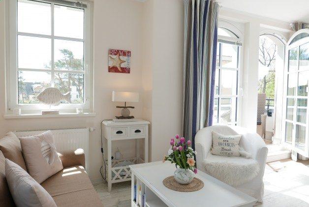 Wohnzimmer Rügen Haus Meeresblick Ferienwohnung Strandperle mit Meerblick Ref. 128693
