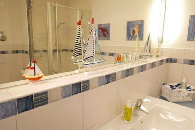 Badezimmer Rügen Haus Meeresblick Ferienwohnung Strandperle mit Meerblick Ref. 128693