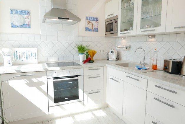 Küchenzeile Rügen Haus Meeresblick Ferienwohnung Strandperle mit Meerblick Ref. 128693