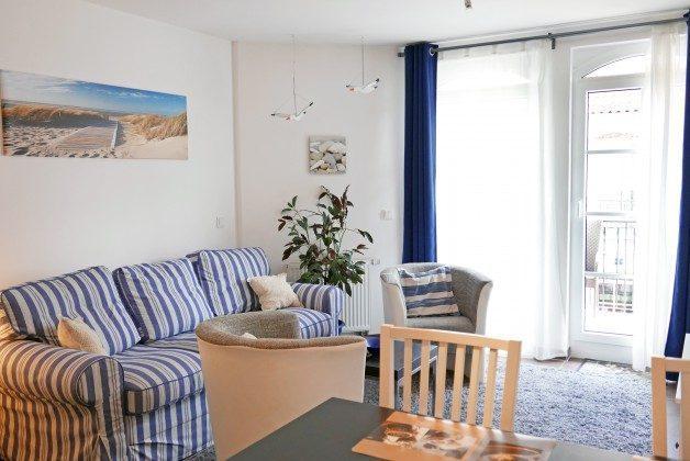 Rügen Haus Meeresblick Baabe Ferienwohnung Sandkorn A 2.07 Ref. 128695-P