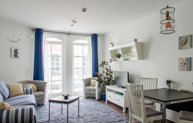 Wohnbereich  Haus Meeresblick Baabe Ferienwohnung Sandkorn Ref. 128695-P