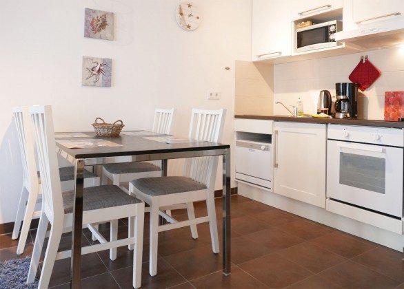 Küchenbereich Haus Meeresblick Baabe Ferienwohnung Sandkorn Ref. 128695-P