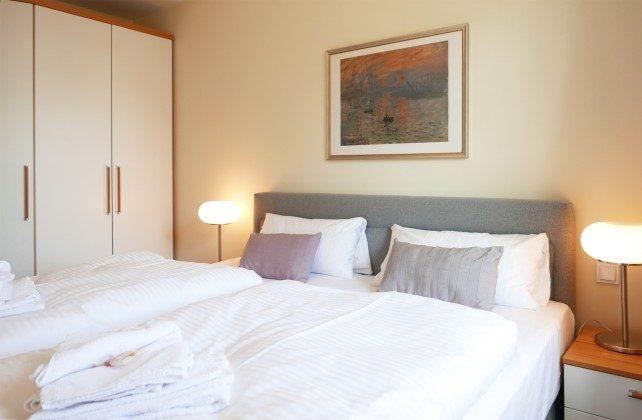 Schlafzimmer Ferienwohnung Meerblick A 2.15 Ref. 128699