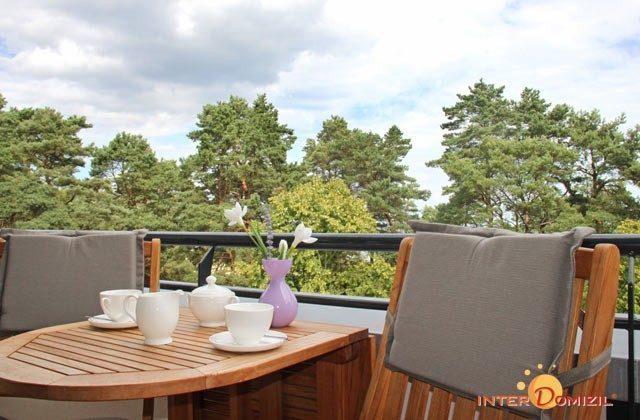 Balkon  Baabe Ferienwohnung Meerblick A 2.15 Ref. 128699