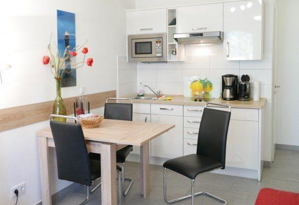 Küchenbereich Rügen Ferienwohnung Sunrise A 2.18