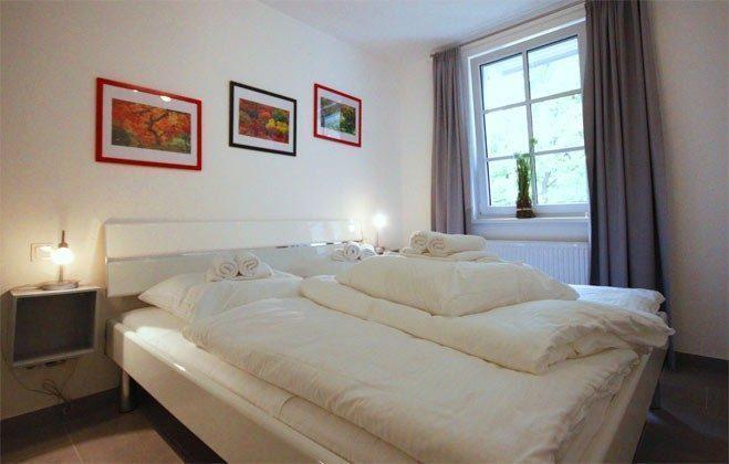 Schlafzimmer Rügen Ferienwohnung Sunrise A 2.18