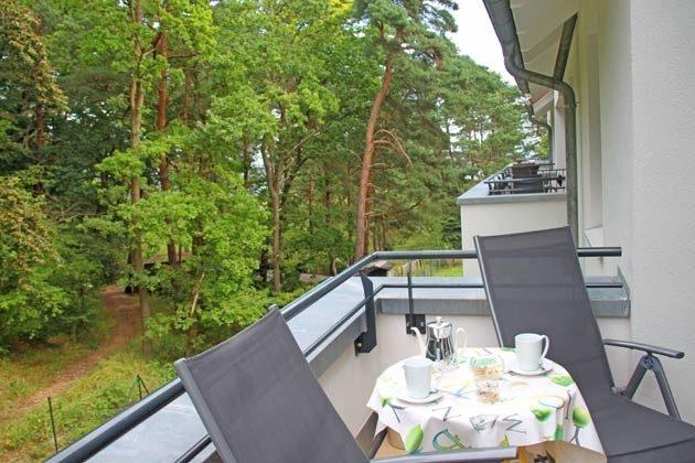 Balkon  Baabe Ferienwohnung Seeschwalbe A 2.21 Ref. 128704