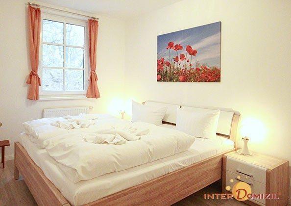Schlafzimmer  Baabe Ferienwohnung Seeschwalbe A 2.21 Ref. 128704