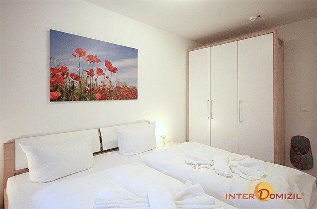 Schlafzimmer Ferienwohnung Seeschwalbe A 2.21 Ref. 128704