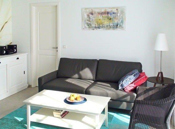 Sonniges Wohnzimmer Rügen Baabe Haus Meeresblick Fewo Aquamarin Ref. 128708-P