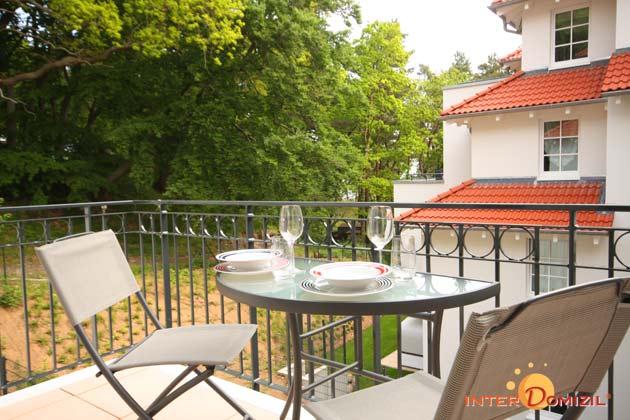 Balkon Baabe Haus Meeresblick Ferienwohnung Aquamarin Ref. 128708-P