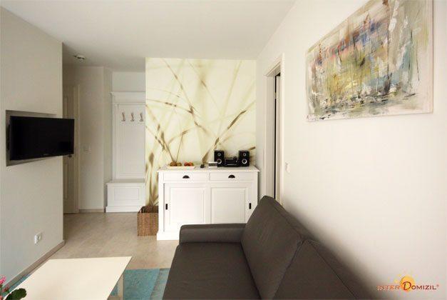 Wohnzimmer Baabe Haus Meeresblick Ferienwohnung Aquamarin Ref. 128708-P