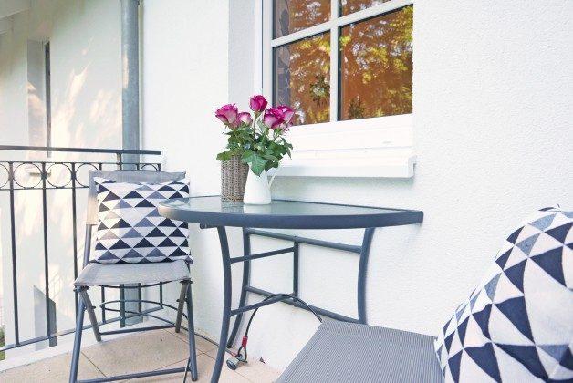 Balkon Ferienwohnung Möwenruf A 2.25 Haus Meeresblick