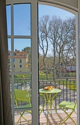 Fenster zum Balkon Ferienwohnung Bernstein A 2.30