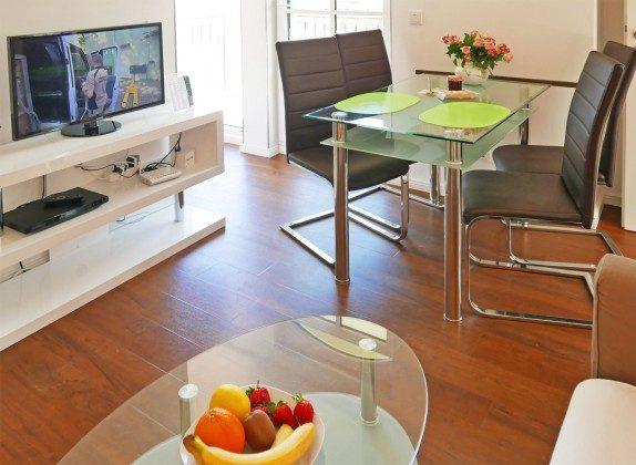 Wohnbereich Ferienwohnung Bernstein A 2.30
