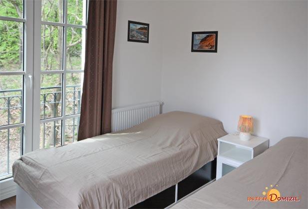 Schlafzimmer  2  Meeresblick Ferienwohnung Bernstein A 2.30