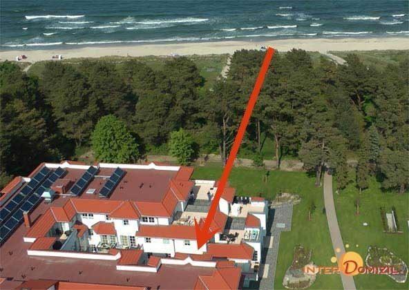 Lage am Meer im Haus Meeresblick Baabe