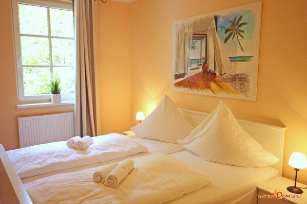 Schlafzimmer 1  Baabe Ferienwohnung Nautilus A 3.11