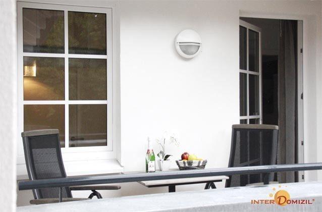 2. Balkon - Ostsee Baabe Ferienwohnung Sonnendeck A 3.12 - Objekt 128719-1